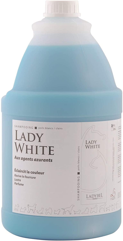 shampoing poils blancs ladybel lady white