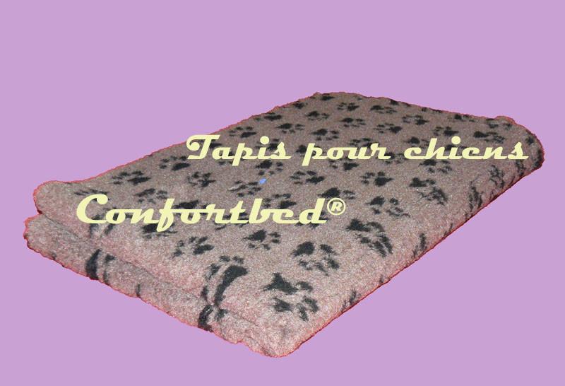 tapis marron pour chiens,chiots et chats