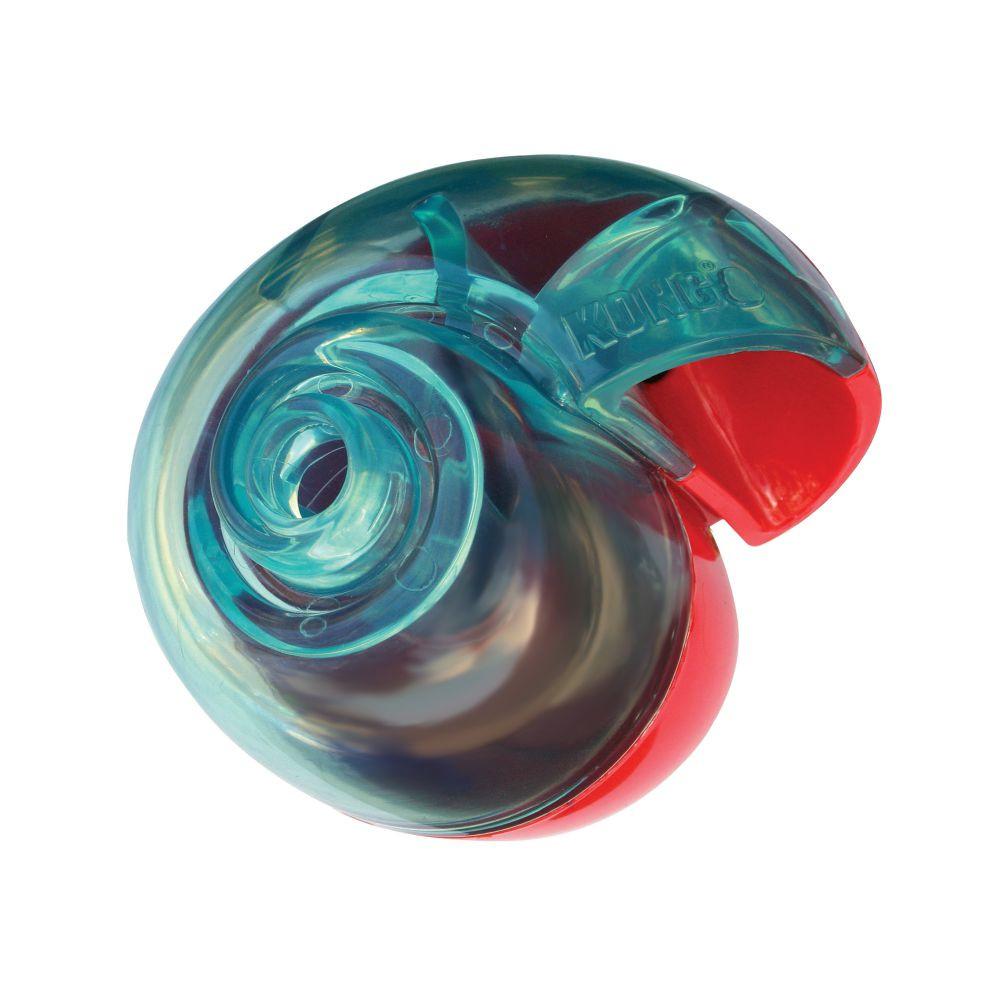 jouet balle kong rewards shell pour chien