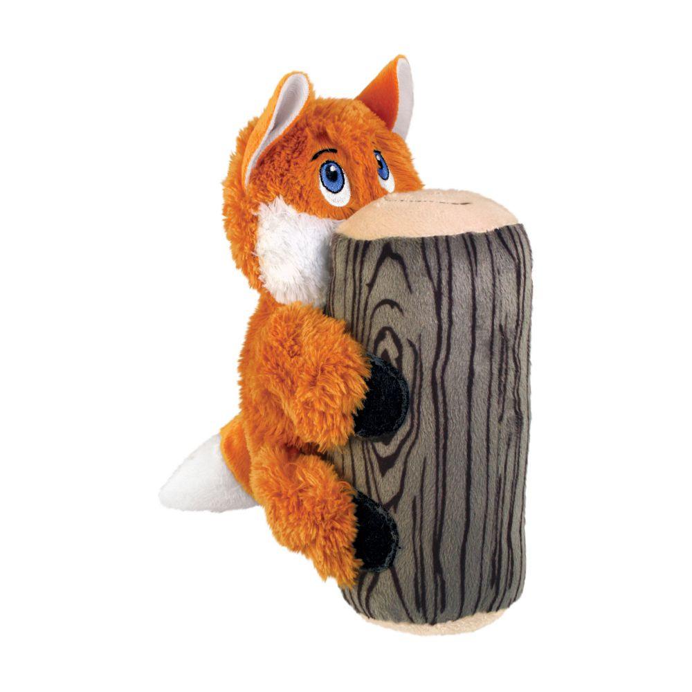 jouet peluche Kong Hiderz Fox pour chien