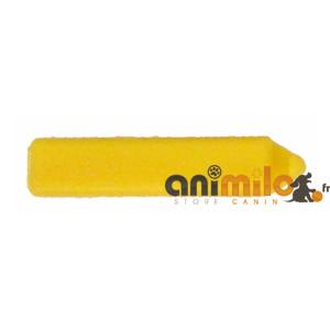 barrette rectangulaire jaune
