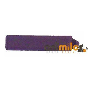 Barrette rectangulaire violette