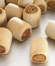 biscuit friandise pour chien-meaty rolls mix