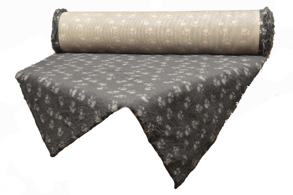 tapis Confortbed Vetbed Standard 20 mm à la coupe anthracite patte grise