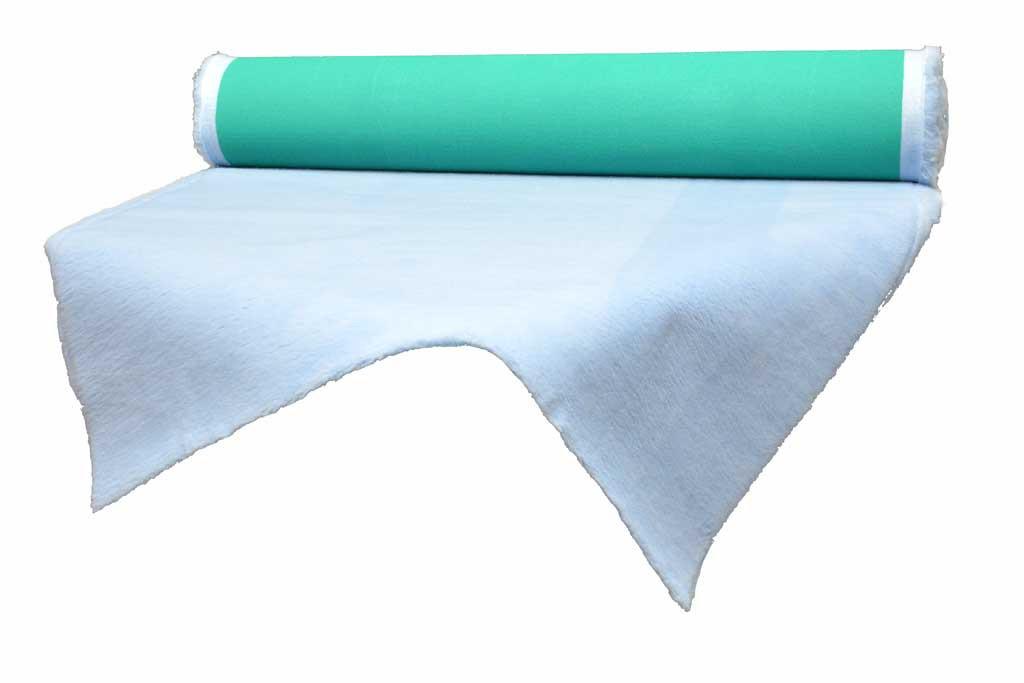 tapis drainant Confortbed Vetbed Eleveur 32 mm bleu clair à la coupe