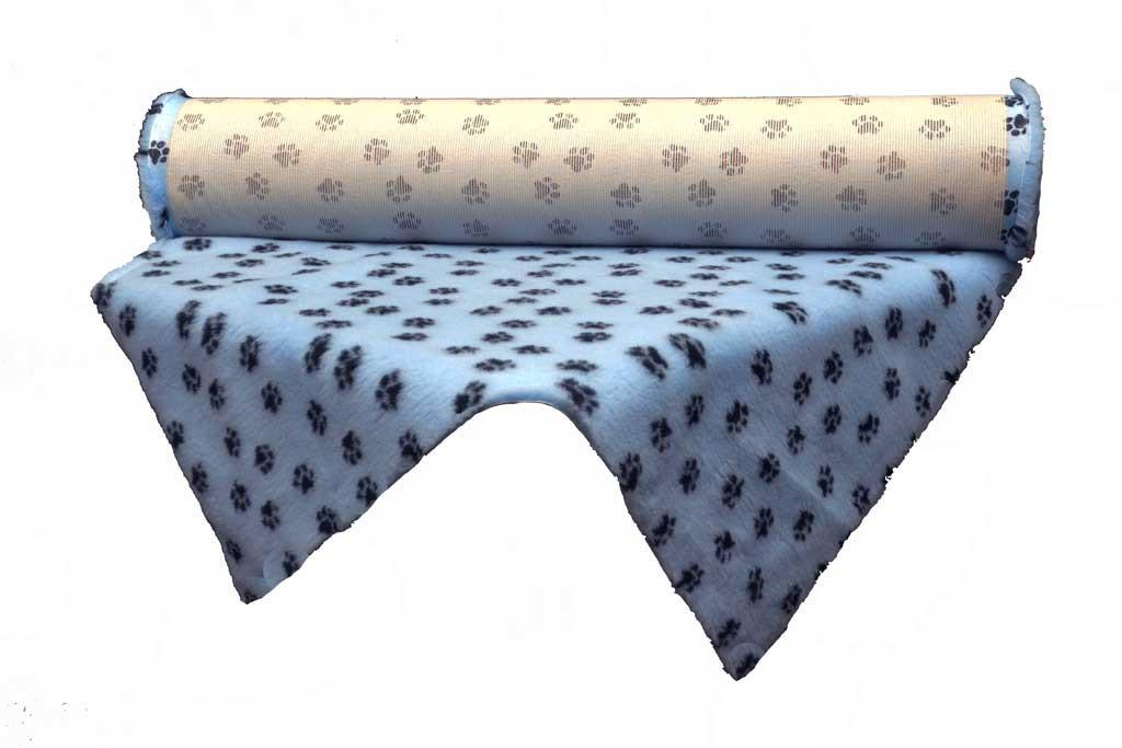 tapis Confortbed Vetbed Standard 20 mm à la coupe bleu patte noire