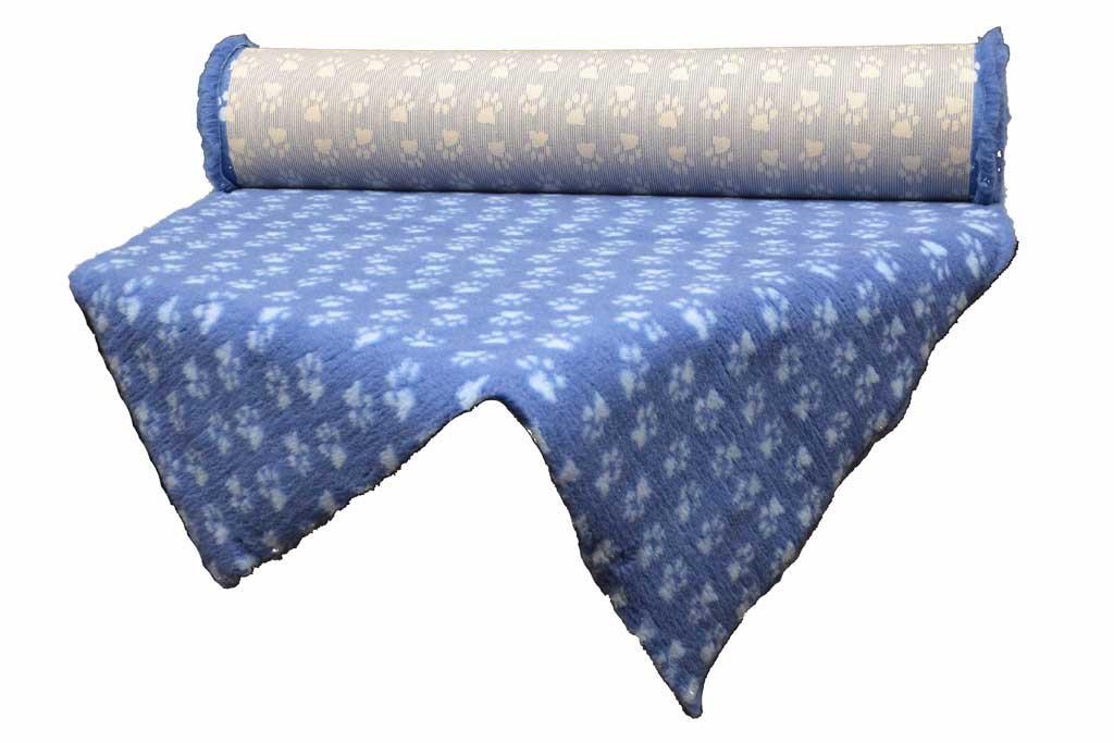 tapis Confortbed Dry Extra marine pattes bleu clair découpe 26 mm