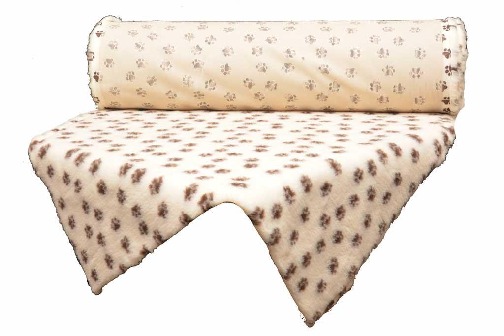 tapis Confortbed Vetbed Standard 20 mm à la coupe beige patte marron