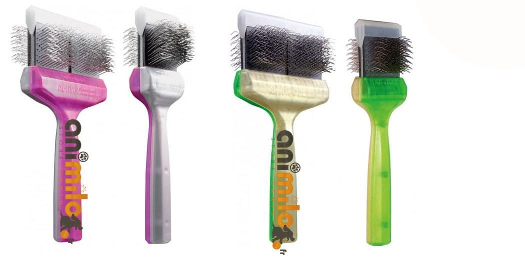 brosses professionnelle actiVet® proline pro brush duo