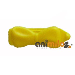 barrette noeud jaune