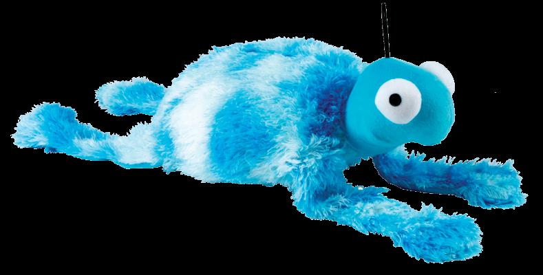 peluche tortue géante bleue pour chien
