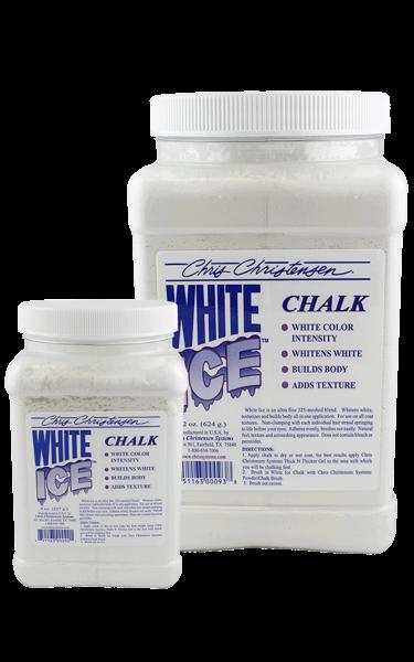 talk poudre Chris Christensen White Ice Chalk blanc