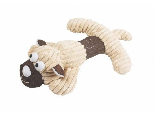 jouet peluche beige pour chien Topmast Amigo