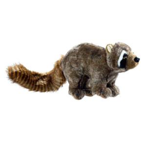 Jouet peluche Hunter Wildlife raton laveur, pour chien