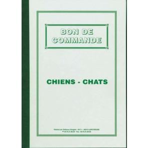 carnet bon de commande BCG chiot chat