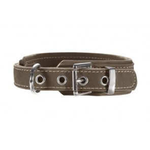 Collier cuir nubuck avec soulagement de traction, Hunter Hunting Comfort
