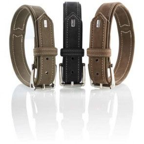 collier cuir nubuck hunter hunting pour chien