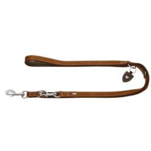 laisse cuir ajustable hunter tara pour chien