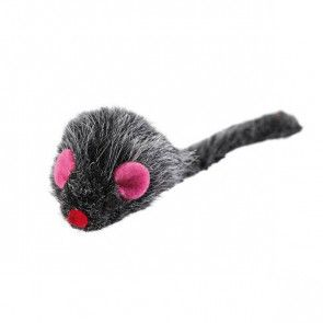 Souris grise peluche canip Hunter Pluschmaus
