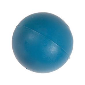 balle dure lourde, bleue, jouet pour chien