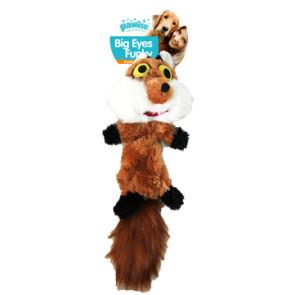 jouet peluche renard 42 cm Pawise pour chien