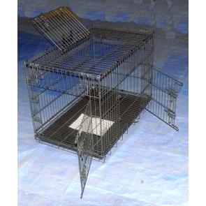 cage pour chien en métal pour  éleveur