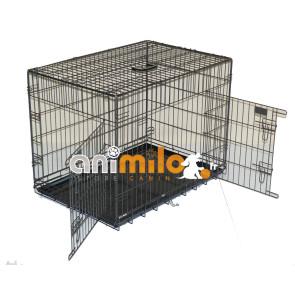 cage métal 'Qualité Extra', pour le transport du chien