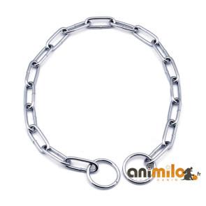 chaine etrangleur d'education maille 3 cm, pour chain