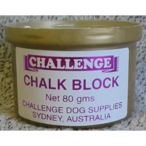 challenge chalk bloc pour chien