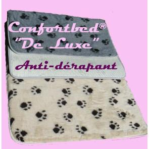 """Tapis fini Confortbed© """"De Luxe"""" anti dérapant, couchage pour chien et chat"""