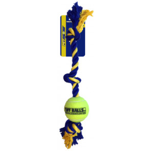 corde 3 noeud et balle de Petsport pour chien