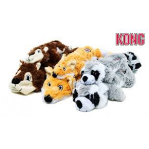 Jouets peluche Kong Scrunch Knots fox