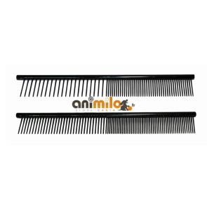 Peigne noir antistatique , ergonomique et pratique