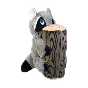 jouet peluche kong hiderz raccoon pour chien