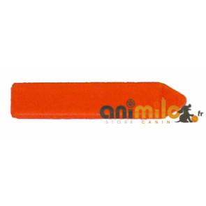 barrette rectangulaire orange