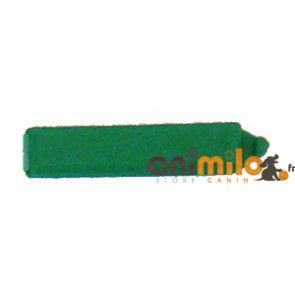 barrette rectangulaire vert foncé