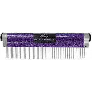 peigne professionnel resco wrap sparkle comb pour chien