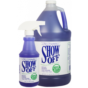 shampoing sec chris christensen show off pour chien