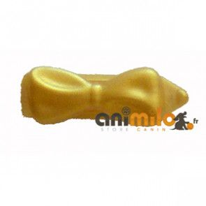 barrette noeud doré