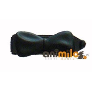 petite barrette noeud noir