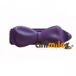petite barrette (noeud) violette