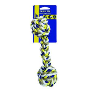jouet corde triple pour chien de Petsport