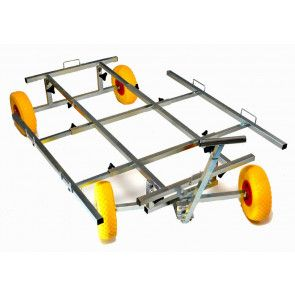 chariot trolley XL transport de cage pour expo