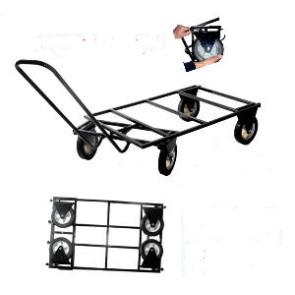 trolley roues pliables, transport de cage