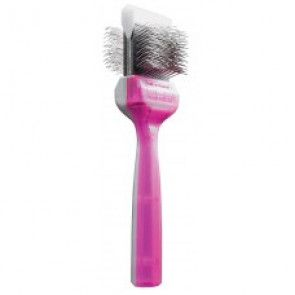 Brosse ActiVet  tuff finish mauve argent simple