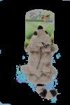 peluche jouet raton multi couineur 30 cm pour chien