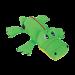 peluche Kong Cozie Ultra Ana Alligator