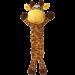 Peluche polaire Kong Bendeez pour chien girafe
