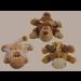 jouet peluche Kong Cozies Naturals