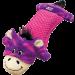 Jouet oreiller Kong Pillows Critter zebre